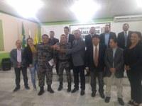 Câmara  Recebe viatura para policia Militar de Feijó