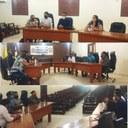 Delegado de policia civil esteve junto ao poder legislativo em prol de famílias desabrigadas.