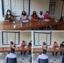 Presidente da Câmara participa de reunião na Secretaria de Educação