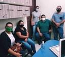 Reunião com representantes da saúde municipal