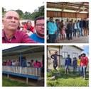 Vereadores realizam sessão itinerante nas comunidades ribeirinhas.